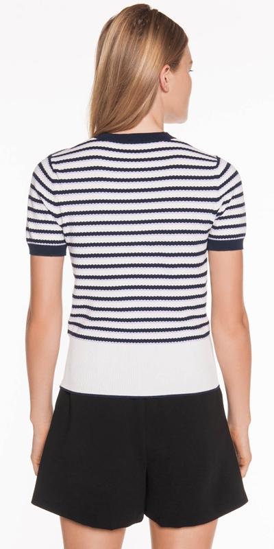 Knitwear | Textured Stripe Knit