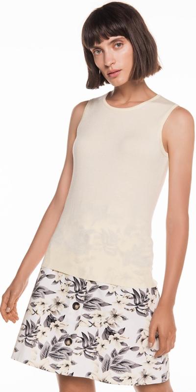 Knitwear | Round Neck Tank
