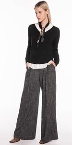 Knitwear | V Neck Long Sleeve Knit