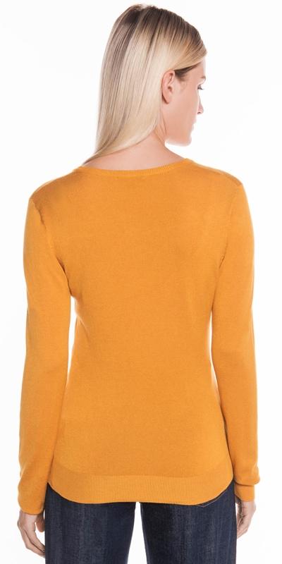 Knitwear | Round Neck Long Sleeve Knit