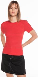 Knitwear | Ribbed Lurex Stripe Knit
