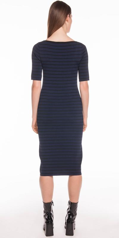 Knitwear | Stripe Knit Dress
