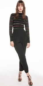 Knitwear | Lurex Stripe Knit