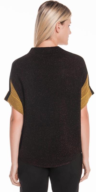 Knitwear | Lurex Batwing Knit