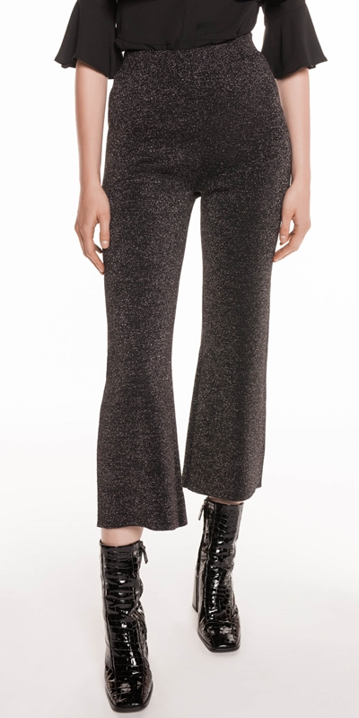 Pants  | Lurex Knitted Pants