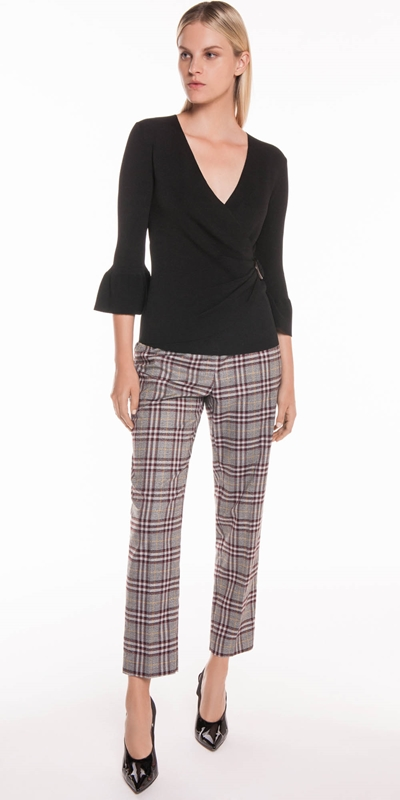 0308935ac5c Sale | Charcoal Plaid Trouser ...
