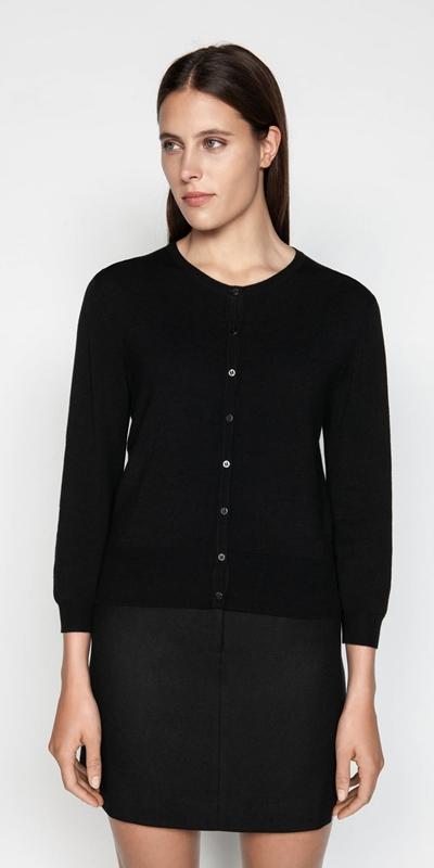 Knitwear  | 3/4 Sleeve Cardigan