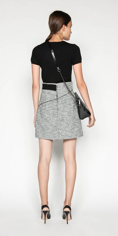 Knitwear | Round Neck Short Sleeve Knit