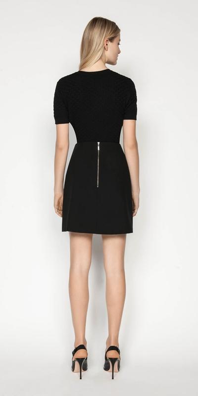 Knitwear | Textured Short Sleeve Knit