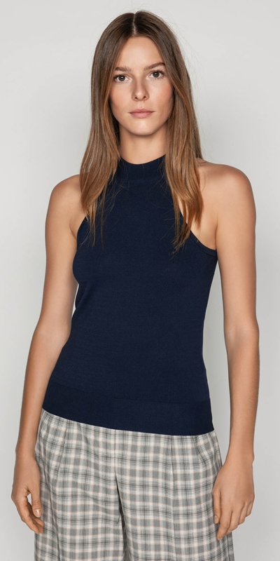 Sale  | Halter Neck Knit