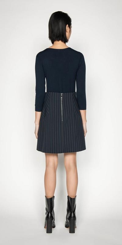 Knitwear | Round Neck 3/4 Sleeve Knit