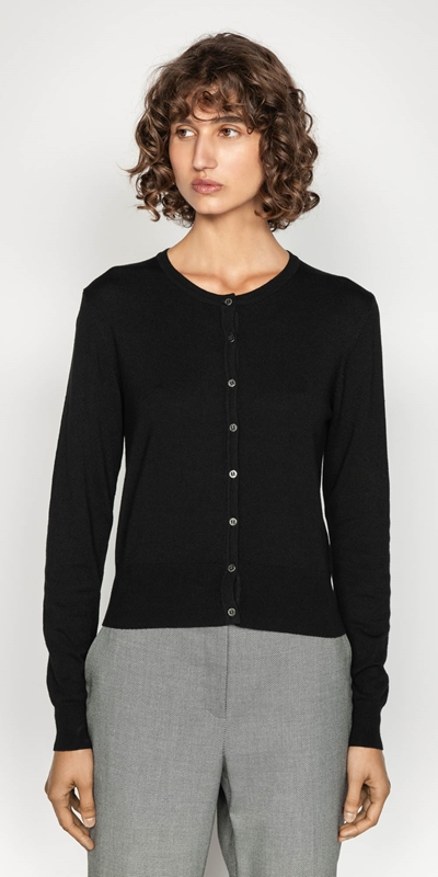 Wear to Work  | Long Sleeve Cardigan