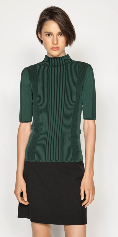 Knitwear  | Two Tone Rib Knit
