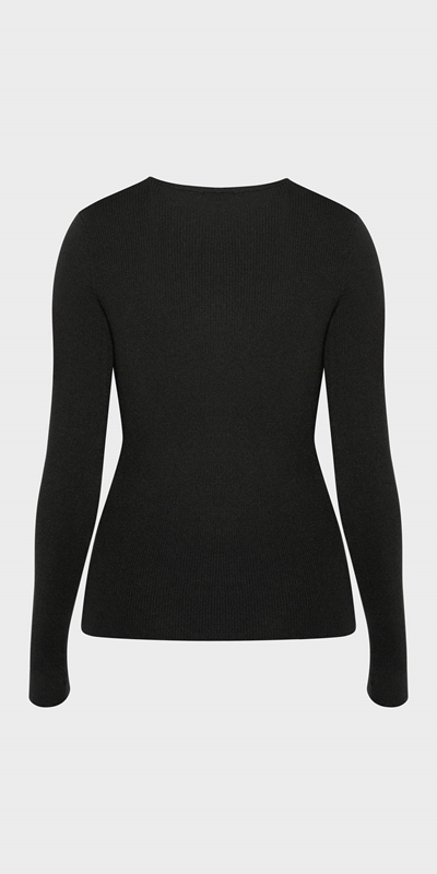 Tops  | Long Sleeve Rib Knit