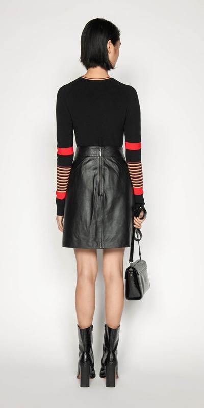 Knitwear | Multi Stripe Long Sleeve Knit