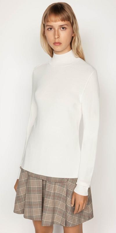 Knitwear | Polo Neck Knit