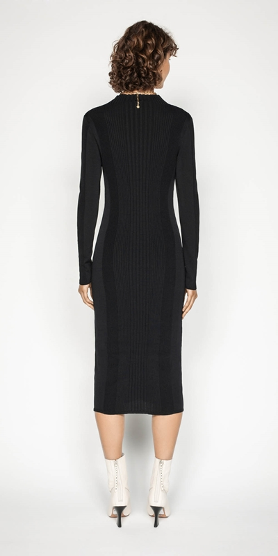 Dresses | Rib Knit Dress