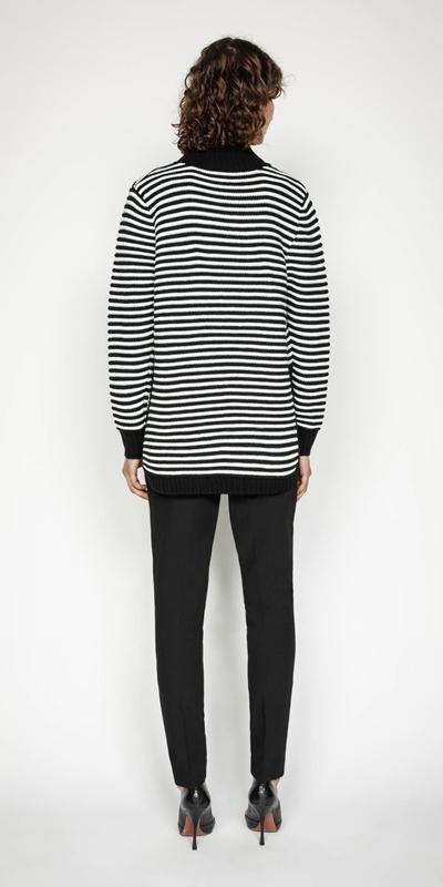 Knitwear | Chunky Stripe Sweater