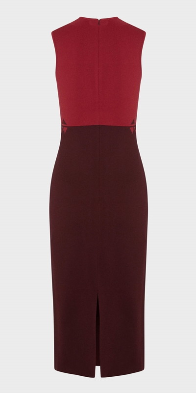 Sale  | Two Tone Jacquard Knit Dress