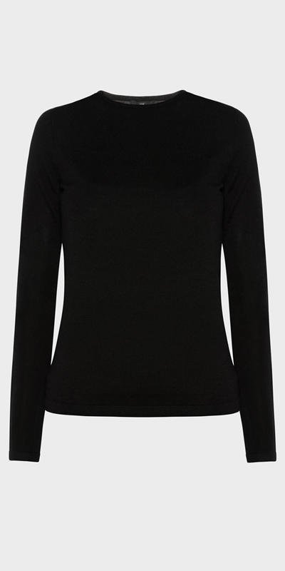 Wear to Work | Merino Long Sleeve Knit