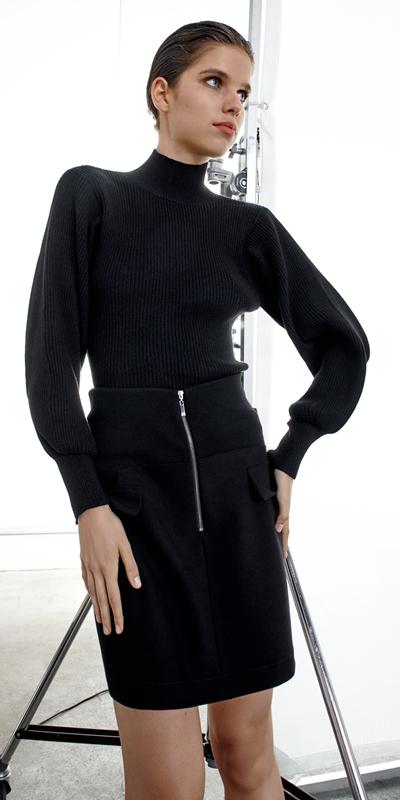 Knitwear  | Two Tone Rib Knit