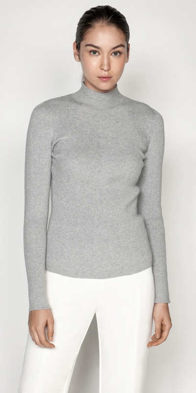 Tops  | Contour Rib Knit