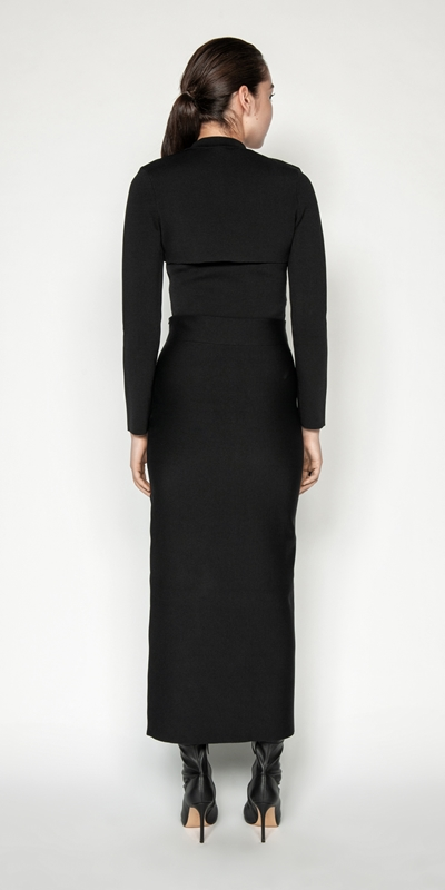 Knitwear   Milano Column Skirt