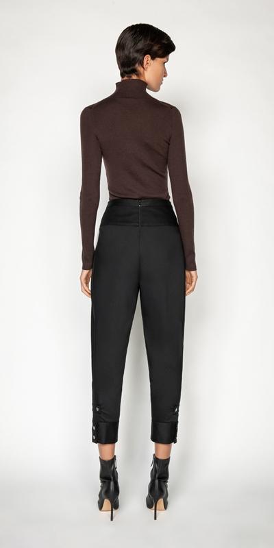 Knitwear | Merino Long Sleeve Rib Sweater