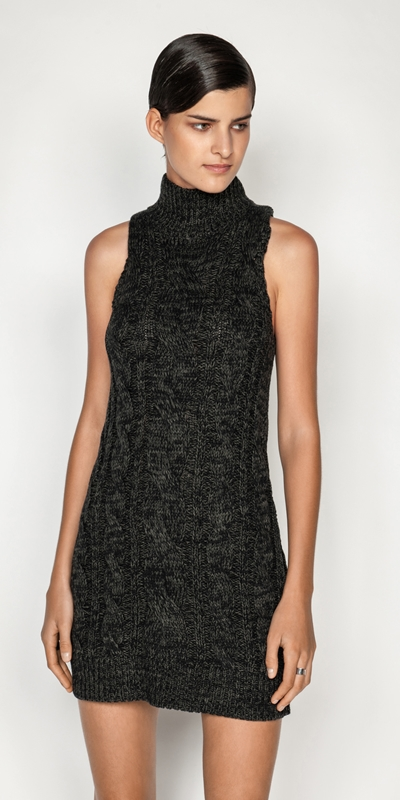 Knitwear  | Chunky Cable Knit Dress
