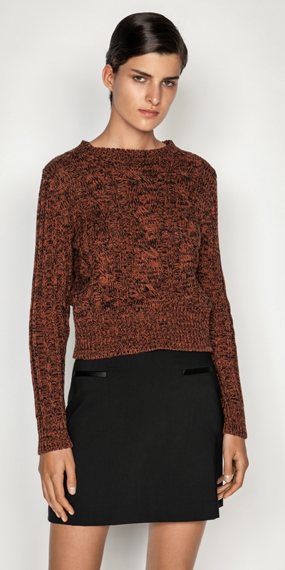 Tops and Shirts  | Chunky Cable Knit Sweater