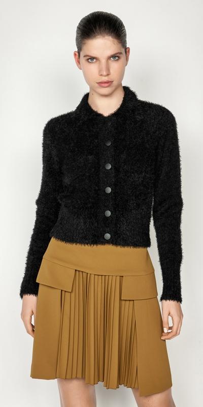 Sale  | Fluffy Crop Cardigan