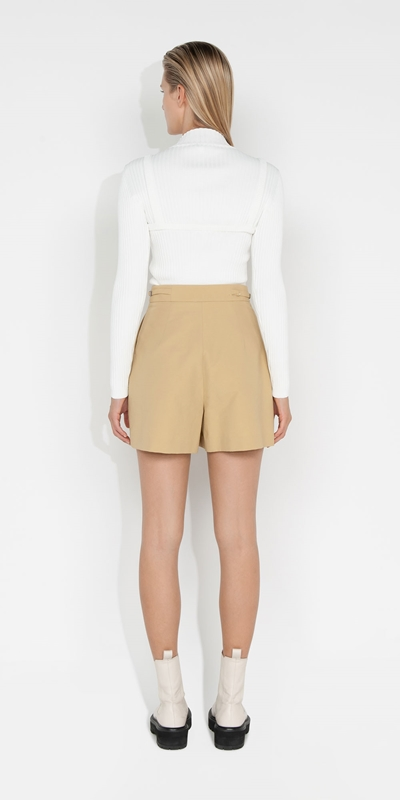 Knitwear   Ribbed Two Piece Knit
