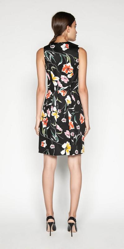 Dresses | Iris Sateen Dress