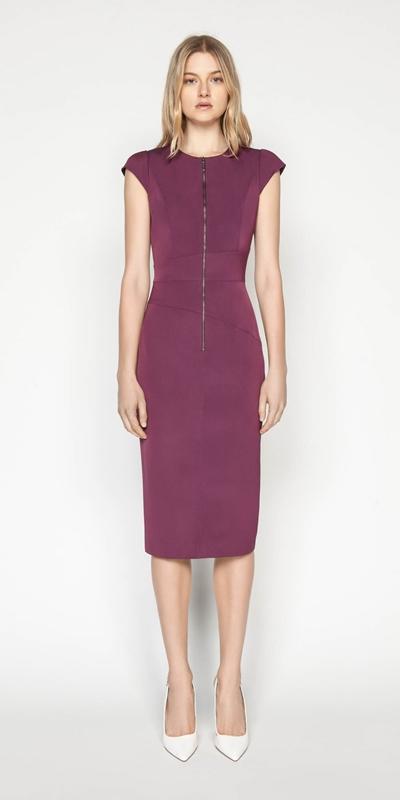 Dresses | Faille Cap Sleeve Pencil Dress