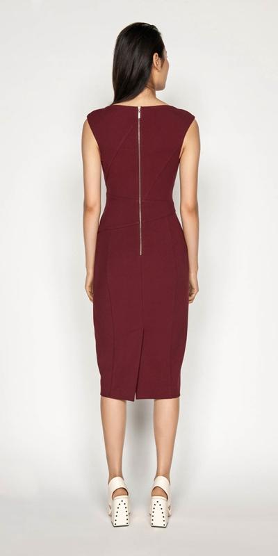 Dresses | Asymmetrical Pencil Dress