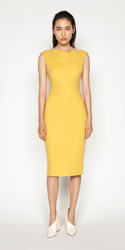 Sale | Asymmetrical Pencil Dress