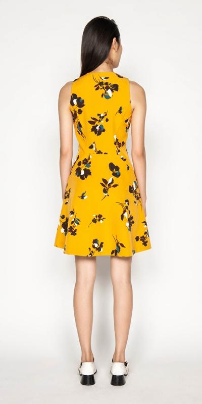 Dresses | Floral Zip Front Dress