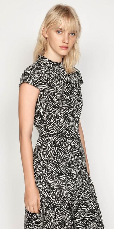 Dresses | Asymmetric Frill Midi Dress
