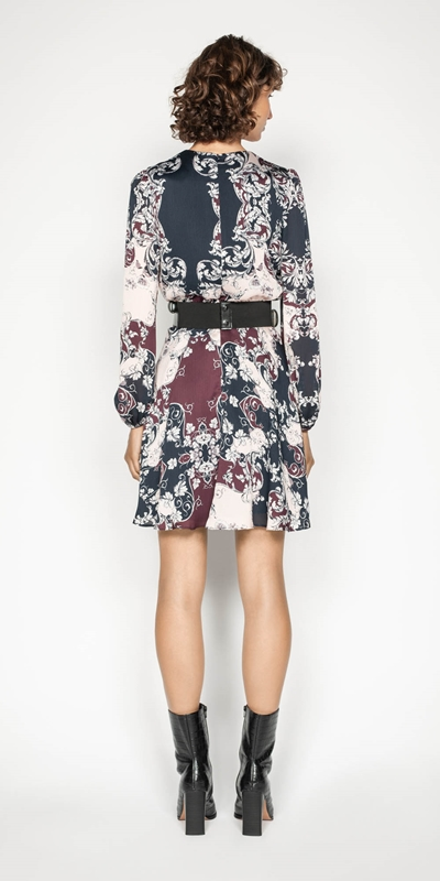 Dresses | Baroque Blouson Sleeve Dress