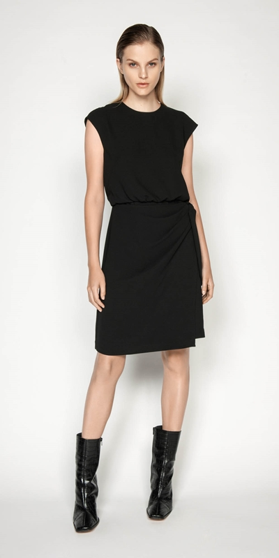 Wear to Work | Tie Waist Dress