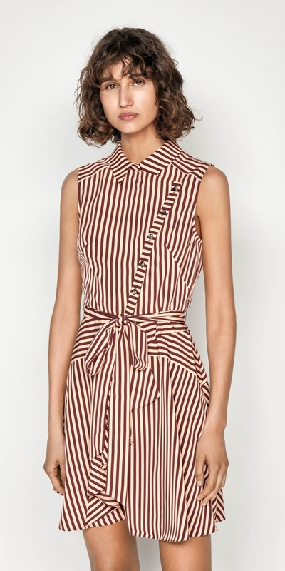 Dresses  | Asymmetric Button Front Dress