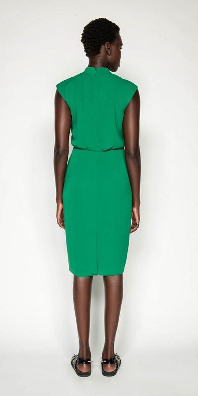 Dresses | Crinkle Frilled Midi Dress