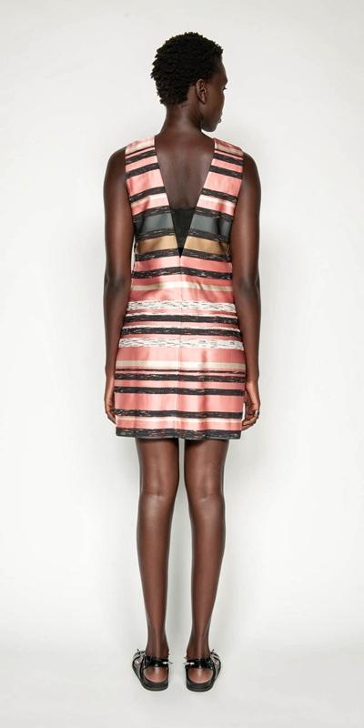 Dresses | Stripe Jacquard Shift Dress