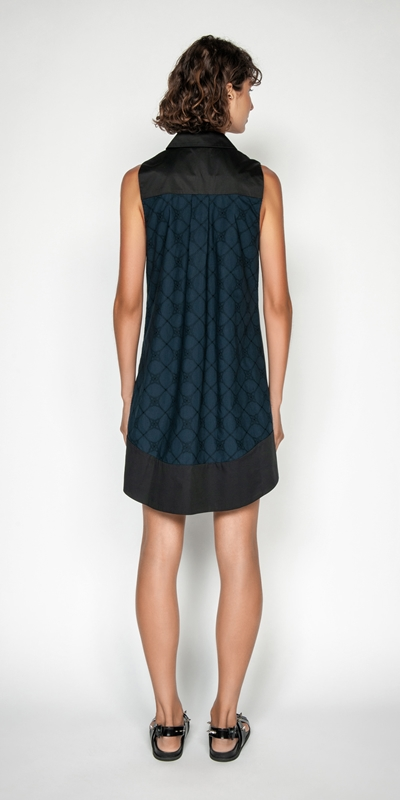 Dresses | Stitched Broderie Shirt Dress