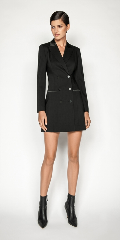Dresses | Wool Blazer Dress