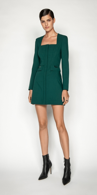Dresses | Square Neck Dress