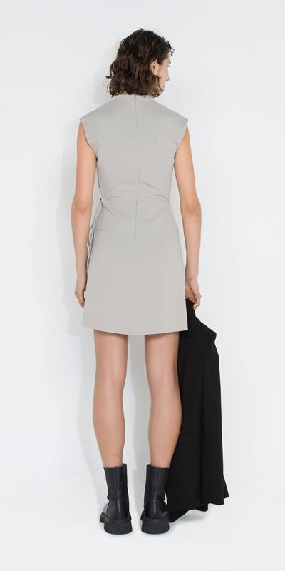 Dresses | Wrap Front Utility Dress