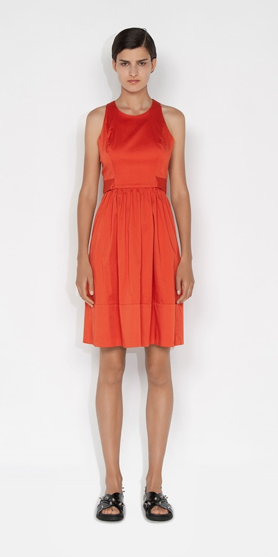 Dresses | Organic Cotton Cross Back Dress