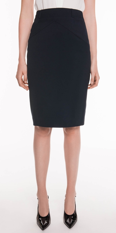 Skirts  | Twill Suit Pencil Skirt
