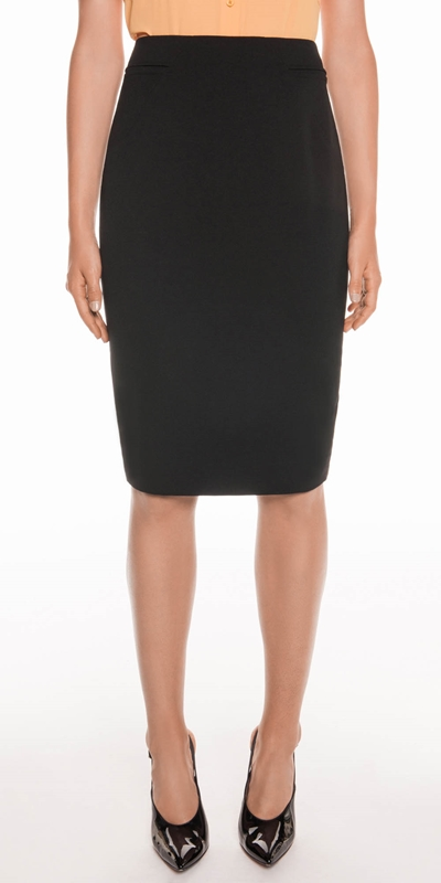 Skirts  | Stitched Detail Pencil Skirt
